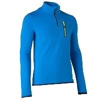 Quechua(ケシュア) BIONNASSAY 300 STRETCH FLEECE MEN BLUE S 8225916-1552861