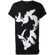 Ann Demeulemeester Blanche プリント Tシャツ