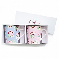 キャスキッドソン(Cath Kidston) S/2 Mini Stanley Mugs Ashdown Rose ca616362 [並行輸入品]