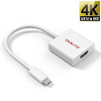 ELUTENG USB C to HDMI 変換 アダプター ビデオ オーディオ 同時出力 USB3.1 10Gbps USB C to HDMI Cable 4k対応 USB type C to...