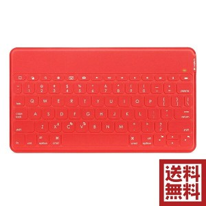 Logicool Keys-To-Go Ultra-Portable Keyboard for iPad ウルトラ ポータブル キーボード iPhone/Apple TV対応 (レッド)