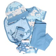 PACT BABY BOY-6-12 PRICKLY PLAYGROUND GIFT PACK 2
