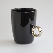 Floyd Cup Ring フロイド カップリング [ Black x Silver クリア ] マグカップ