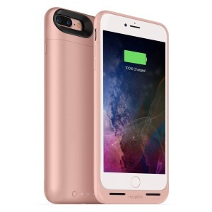 mophie juice pack air for iPhone 7 Plus ワイヤレス充電機能付きバッテリーケース ローズゴールド【日本正規代理店品】 MOP-PH-000152