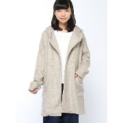 【SALE/70%OFF】AS KNOW AS PINKY ホワッとWフーディハオリ アズノゥアズ コート/ジャケット【RBA_S】【RBA_E】