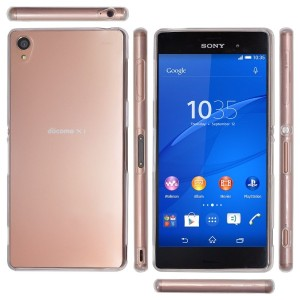 OVER's Xperia Z3 ケース / エクスペリア Z3 カバー 0.8mm TPU 4点セット ( Xperia カバー *1 & 液晶保護フィルム*1 & ミニクロス*1 &...