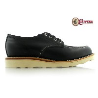 チペワ CHIPPEWA 1901M38 4INCH WHIRLWIND MOC TOE WEDGE OXFORD Eワイズ BLACK ODESSA ワークブーツ 【送料無料】