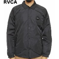 RVCA Motors Coach Jacket Pirate Black M コーチジャケット