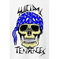 Suicidal Tendencies ステッカー Bandana Skull