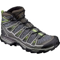 サロモン Salomon メンズ ハイキング シューズ・靴【X Ultra Mid Aero Hiking Boot】Castor Gray/Beluga/Fern
