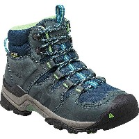キーン KEEN レディース ハイキング シューズ・靴【Gypsum II Mid Waterproof Hiking Boot】Midnight Navy/Opaline