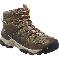 キーン KEEN レディース ハイキング シューズ・靴【Gypsum II Mid Waterproof Hiking Boot】Cornstock/Gold Coral