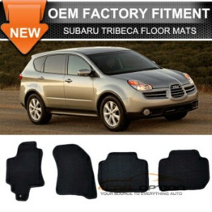Subaru Tribeca フロアマット Limited Time Sale Fit For 06-14 Tribeca Floor Mats Carpet Front Rear Nylon...