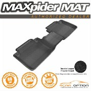Honda Accord フロアマット 3D Maxpider 13-15 Honda Accord Sedan Black 1Pc Classic Floor Mats Carpet 2Nd...