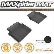 Chrysler 200 フロアマット 12-14 Chrysler 200 Black 3D Maxpider Classic Floor Mat Carpet 2Pcs 2Nd Row R2...
