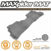 Mazda CX-5 フロアマット 3D Maxpider 13-16 Mazda Cx-5 1Pcs Kagu Gray Grey Rubber Floor Mat R2 2Nd Row 3D...