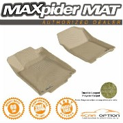 Honda CR-V フロアマット 3D Maxpider 12-15 Honda CR-V L4 Tan Floor Mat Classic Carpet 2Pc 3D Maxpider 12...