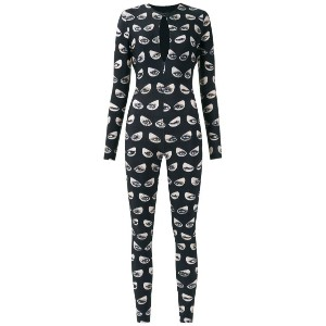 Adriana Degreas - printed jumpsuit - women - ポリアミド/スパンデックス - M