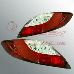 マツダ デミオ テールライト COLIN LED tail light(red and clear) DEMIO DE Series 2007onwards MTDEMIO-1L-CR-02...