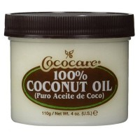 海外直送品CocoCare 100% Coconut Oil, 4 oz (Pack of 2)