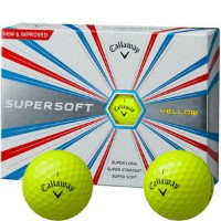 CW17 SUPERSOFT YL【税込】 キャロウェイ SUPERSOFT ボール 1ダース 12個入り(イエロー) Callaway 17 SUPERSOFT YLW 12P 6419454120...