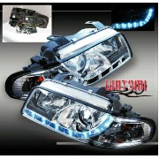 アウディ ヘッドライト 1995-1998 AUDI A4 B5 PROJECTOR R8 LED HEAD LIGHTS 1997 1995-1998 AUDI A4 B5 PROJECTOR...