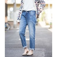 ★dポイント20倍★【LEVI'S(リーバイス)】501(R) CT JEANS FOR WOMEN DARN & DUSTED【dポイントでお得に購入】