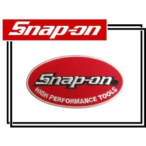 Snap-on(スナップオン)ワッペン「HIGH PERFORMANCE OVAL PATCH」【1】