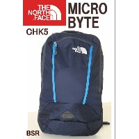 THE NORTH FACE CHK5 BSR BLUE ブルー ザ・ノースフェイス USA限定モデル リュック MICRO BYTE BACK PACK バック マイクロバイト バックパック...