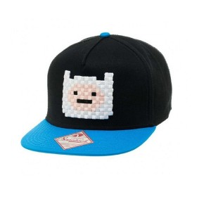 Adventure Time ベースボールキャップ Finn Embroidery face 新しい 公式 Snapback