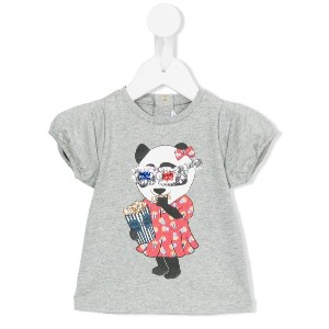 Little Marc Jacobs - パンダプリントtシャツ - kids - コットン/モーダル - 18カ月
