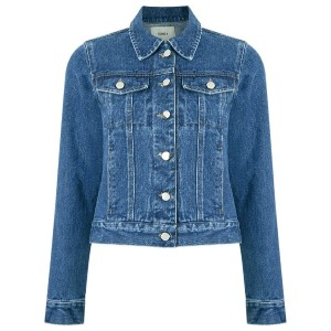 Egrey - denim jacket - women - コットン - 36