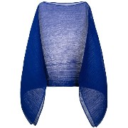 Pleats Please By Issey Miyake plain cape