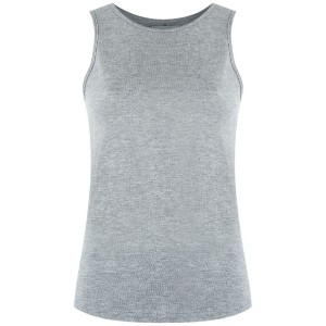 Egrey - round neck tank top - women - ビスコース - 42
