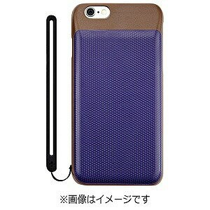 iPhone 6s/6用BackPack Wカードケース ネイビー TR−DCIP154N−NV