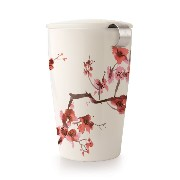 Tea Forte KATI Cup Loose Leaf Tea Brewing System, Cherry Blossoms by Tea Forte