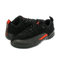 NIKE AIR JORDAN 12 RETRO LOW ナイキ エア ジョーダン 12 ロー レトロ BLACK/MAX ORANGE/ANTHRACITE