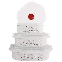 Corelle Coordinates Splendor 6-Piece Microwave Cookware and Storage Set by Corelle Coordinates