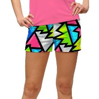 LoudMouth Ladies Crystal Mini Shorts【ゴルフ レディース>パンツ】