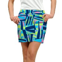 LoudMouth Ladies Tiki Bar Blue Skort 【ゴルフ レディース>スコート】