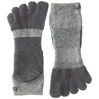 ToeSox Sport Perfdry Medium Weight Ankle Brindle Grey Medium Brindle Grey M(25cm~27cm)
