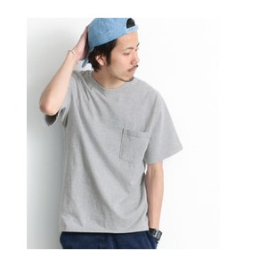 Sonny Label Goodwear 7.2oz CREW-NECK AR POCKET-T OX【アーバンリサーチ/URBAN RESEARCH メンズ Tシャツ・カットソー L.GRY...