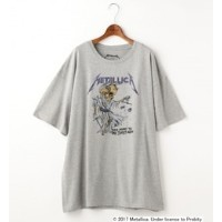 Double name別注METALLICA/ビッグTシャツワンピース【ダブルネーム/DOUBLE NAME ワンピース】