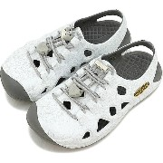 KEEN キーン キッズ サンダル リオ チルドレン Rio KIDS CHILDREN Hawaii Flower Silver (1017243 SS17)【コンビニ受取対応商品】
