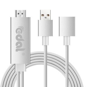 Lightning to HDMI 変換ケーブル 1080P Lightning to HDMI Adapter 大画面 iPhone iPad スマホ 共用 iPhone HDMI 変換アダプタ
