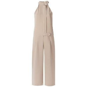 Egrey - wide leg jumpsuit - women - ポリエステル - 40