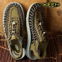 KEEN キーン ユニーク サンダル メンズ UNEEK MNS Dark Olive/Neutral Gray (1017033 SS17)【コンビニ受取対応商品】 shoetime
