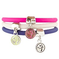 Zumba (ズンバ) Can't Touch This Charm Bracelet3セット [並行輸入品]
