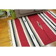 RUG&PIECE Native Mexican Rug ネイティブ柄 メキシカンラグマット 215cm×145cm
