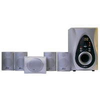 Fuze Digital Surround Home Theater Speaker System シルバー AVS-3000/2